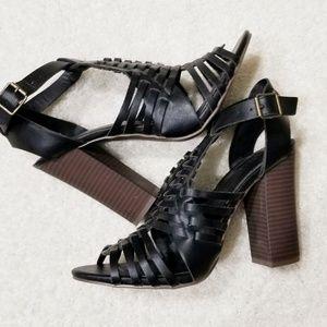 Merona Black Heel Dress Sandles